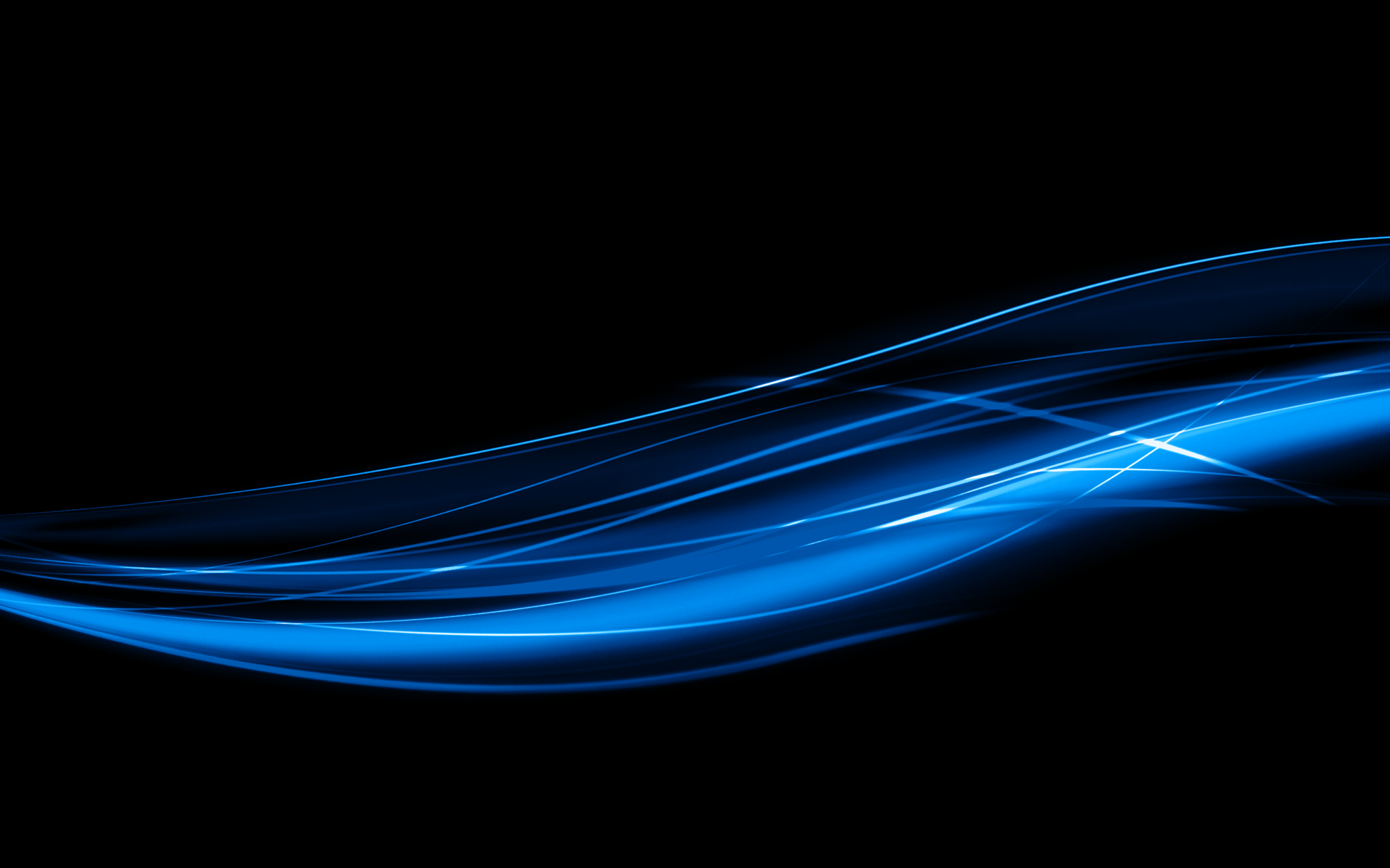Abstract Blue Lines Wallpaper