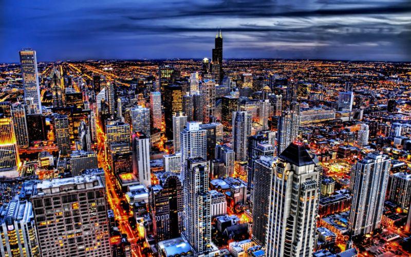 Cityscapes skyline wallpaper