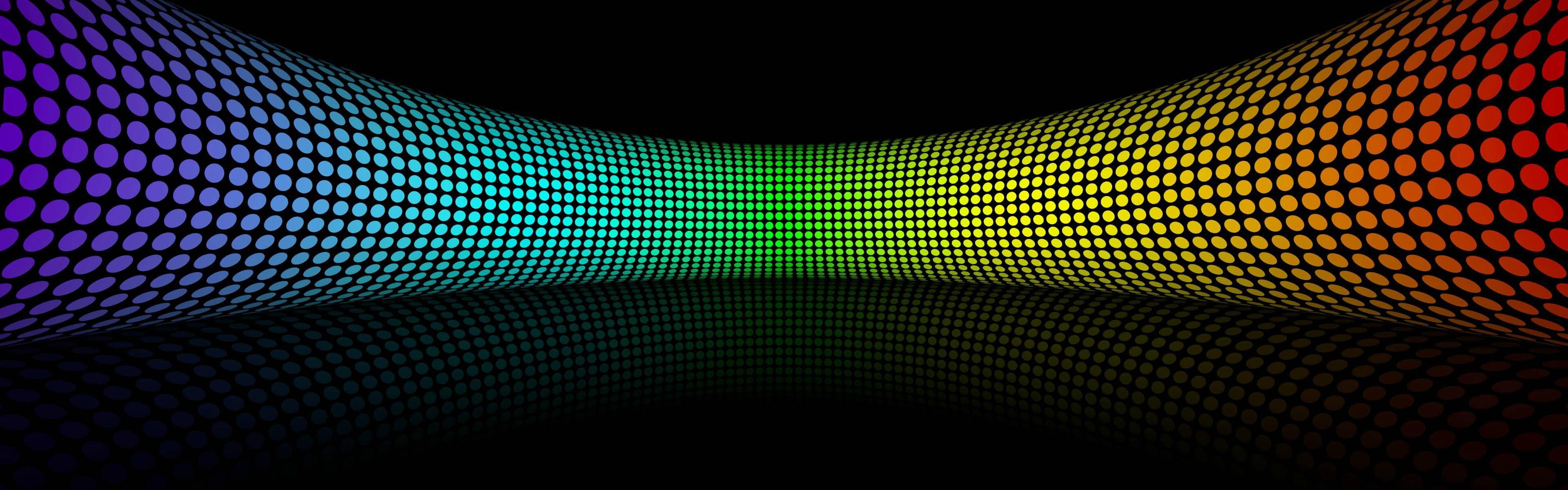 Rings rainbows wallpaper | 3840x1200 | 9195 | WallpaperUP