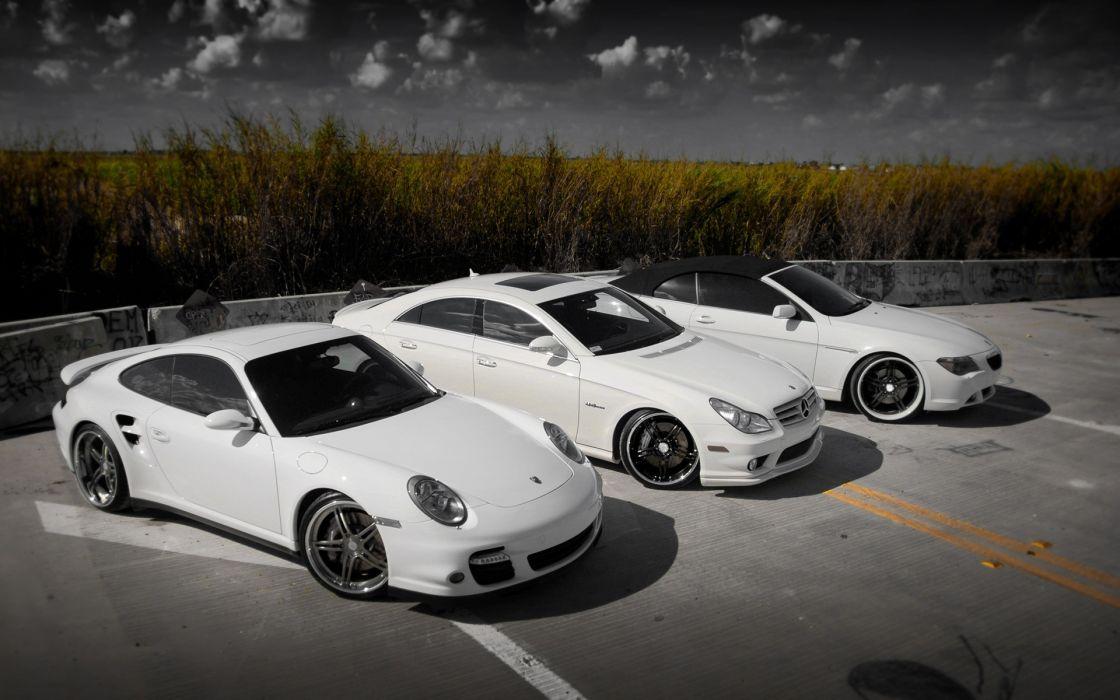 Bmw porsche cars vehicles mercedes-benz wallpaper