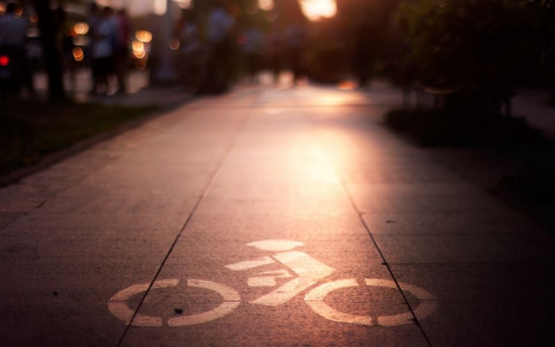 Bicycles roads wallpaper