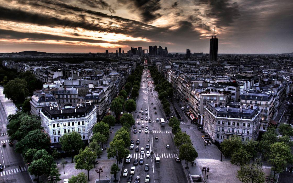 Paris cityscapes architecture buildings wallpaper