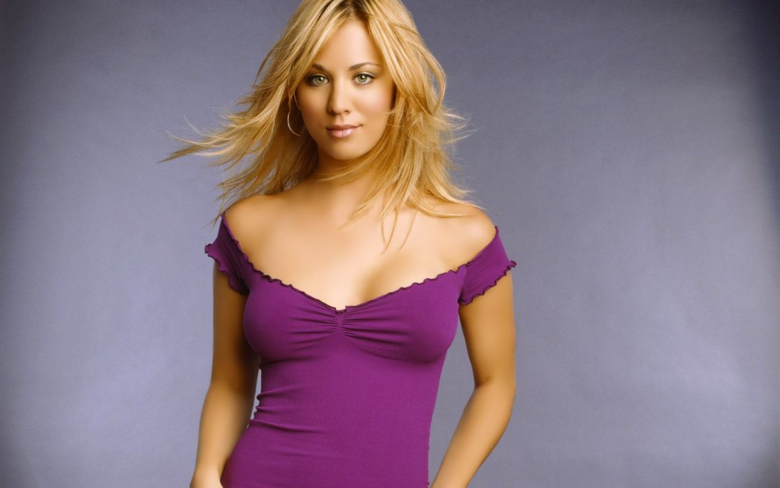 Blondes women dress violet kaley cuoco wallpaper