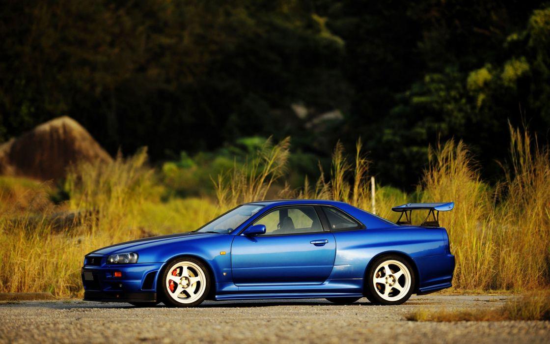 Sunset cars nissan skyline blue cars skyline r34 midnight blue skyline wallpaper