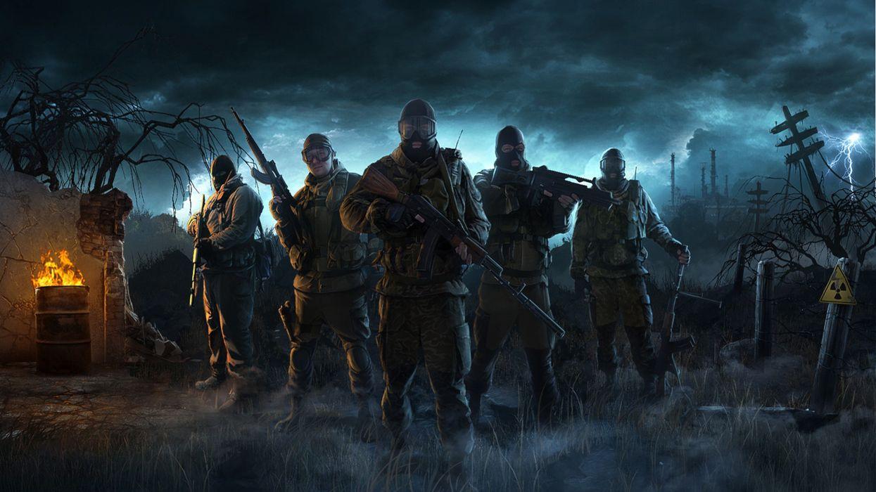 Video games s_t_a_l_k_e_r wallpaper
