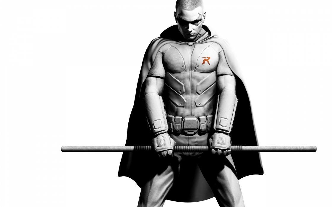 Batman robin arkham city batman arkham city wallpaper