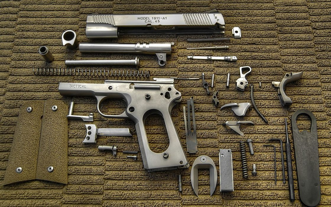 Pistols weapons colt 1911 wallpaper