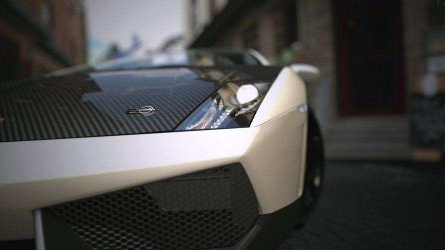 Video games cars lamborghini vehicles supercars sport cars gran turismo 5 playstation 3 wallpaper