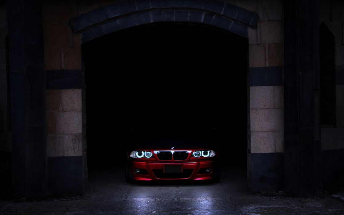 Bmw cars garages red cars wallpaper