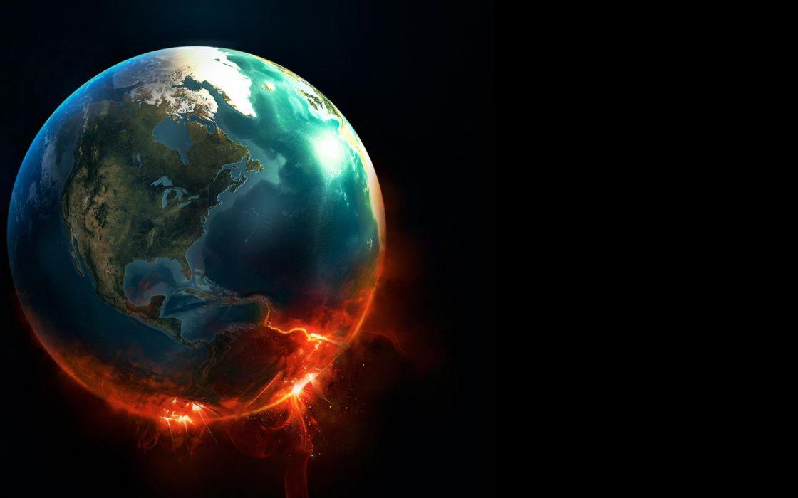 World planets earth wallpaper
