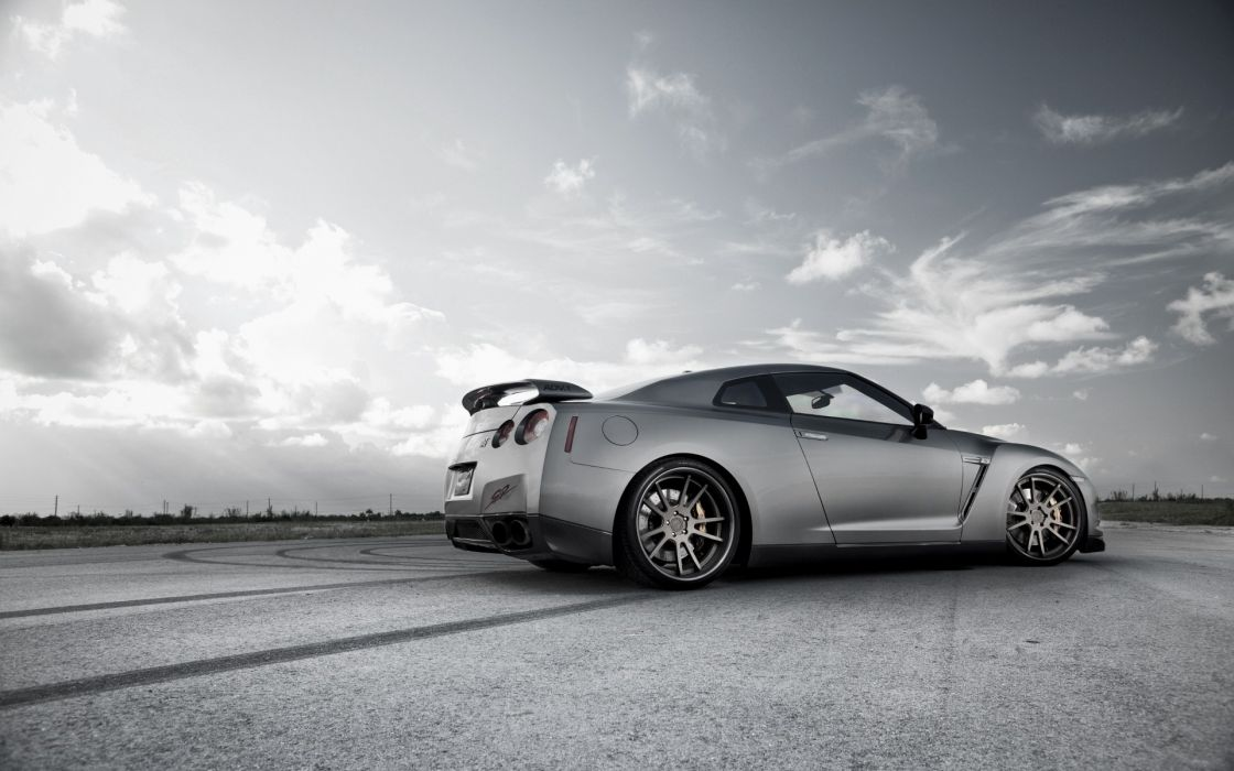 Cars nissan low-angle shot nissan gt-r r35 wallpaper