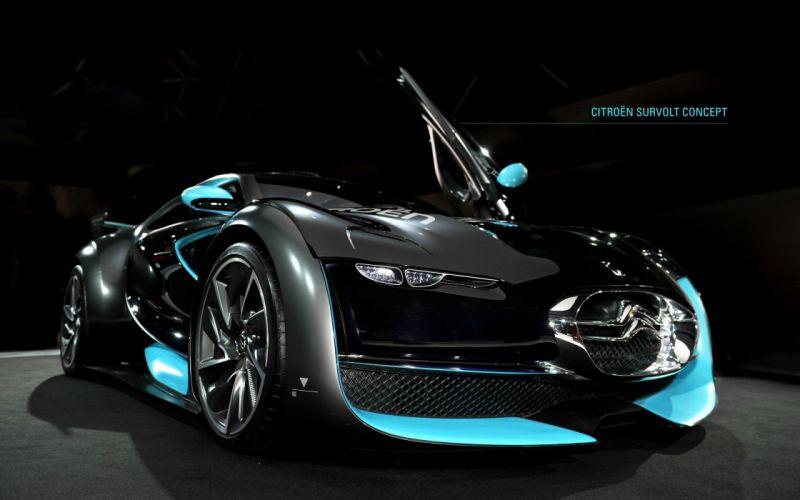 Cars supercars concept cars survolt wallpaper