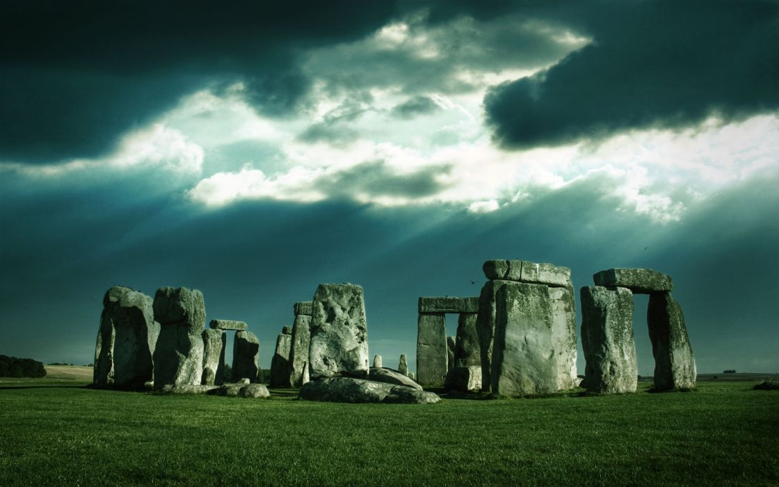 Stonehenge hdr photography wallpaper