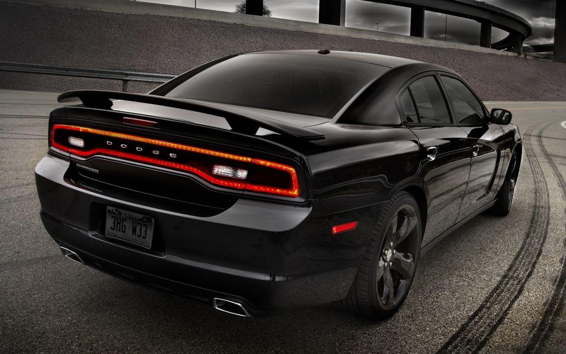 Black cars dodge charger wallpaper