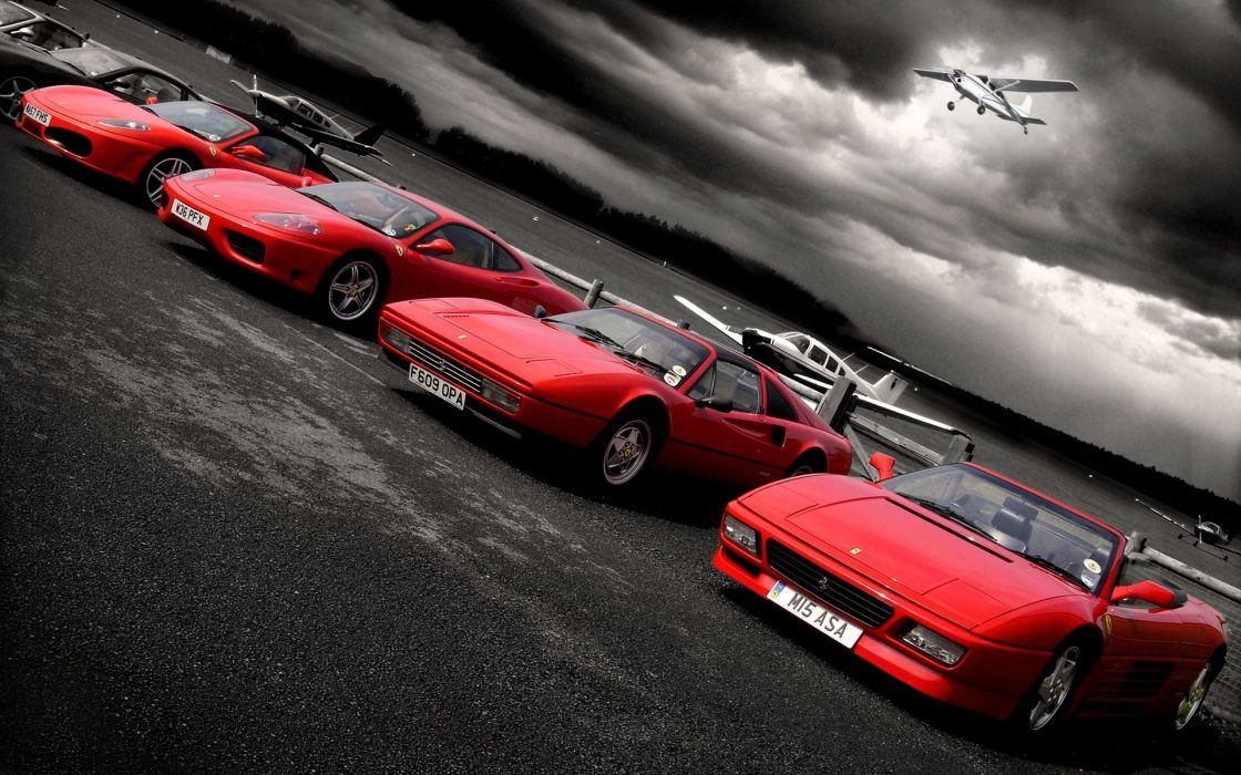 Cars ferrari vehicles selective coloring red cars ferrari testarossa ferrari f ferrari  modena ferrari  wallpaper