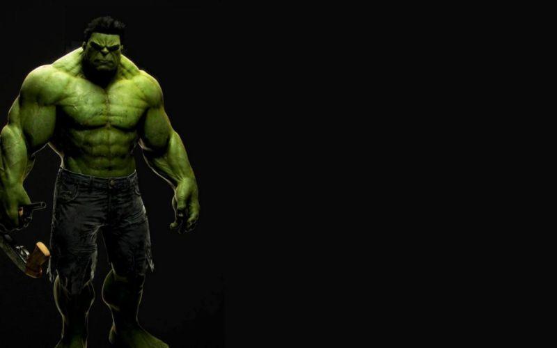 Green beast marvel comics the avengers (movie) black background hulk wallpaper