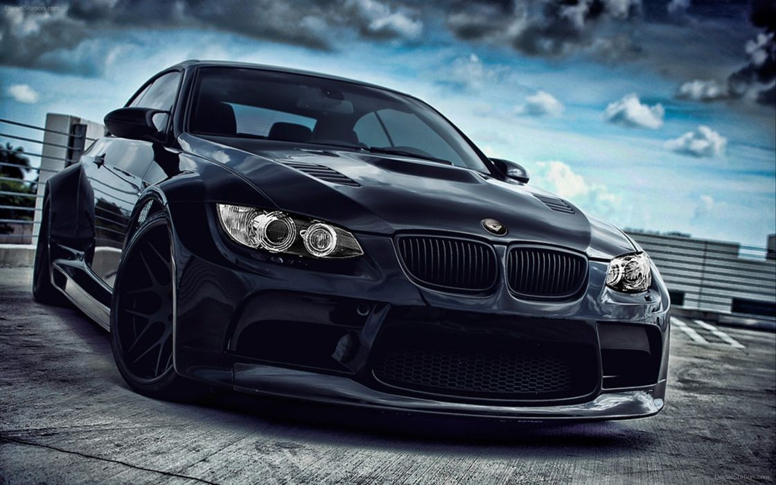Bmw Black Dark Cars Vehicles Tuning Wheels M Sport Luxury Sd Vorsteiner
