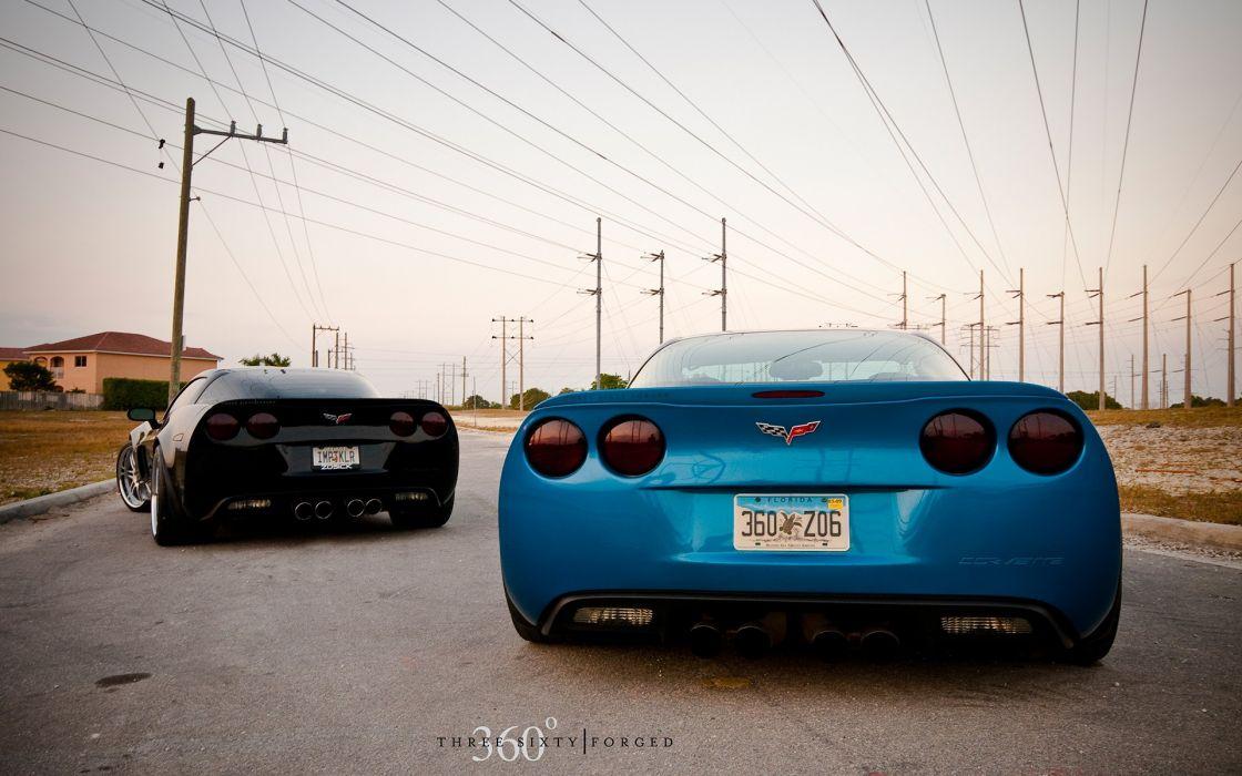 Cars chevrolet corvette wallpaper