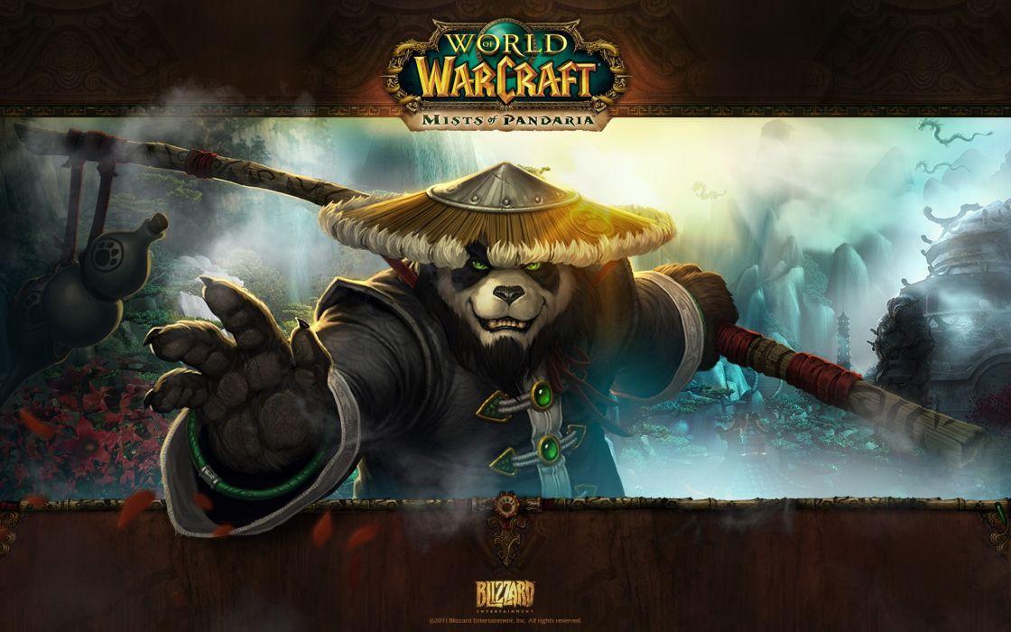 Video games world of warcraft artwork pandaren world of warcraft mists of pandaria wallpaper