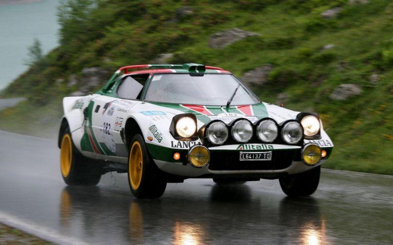 Rain cars rally italian vehicles racing lancia stratos rally cars racing cars wallpaper
