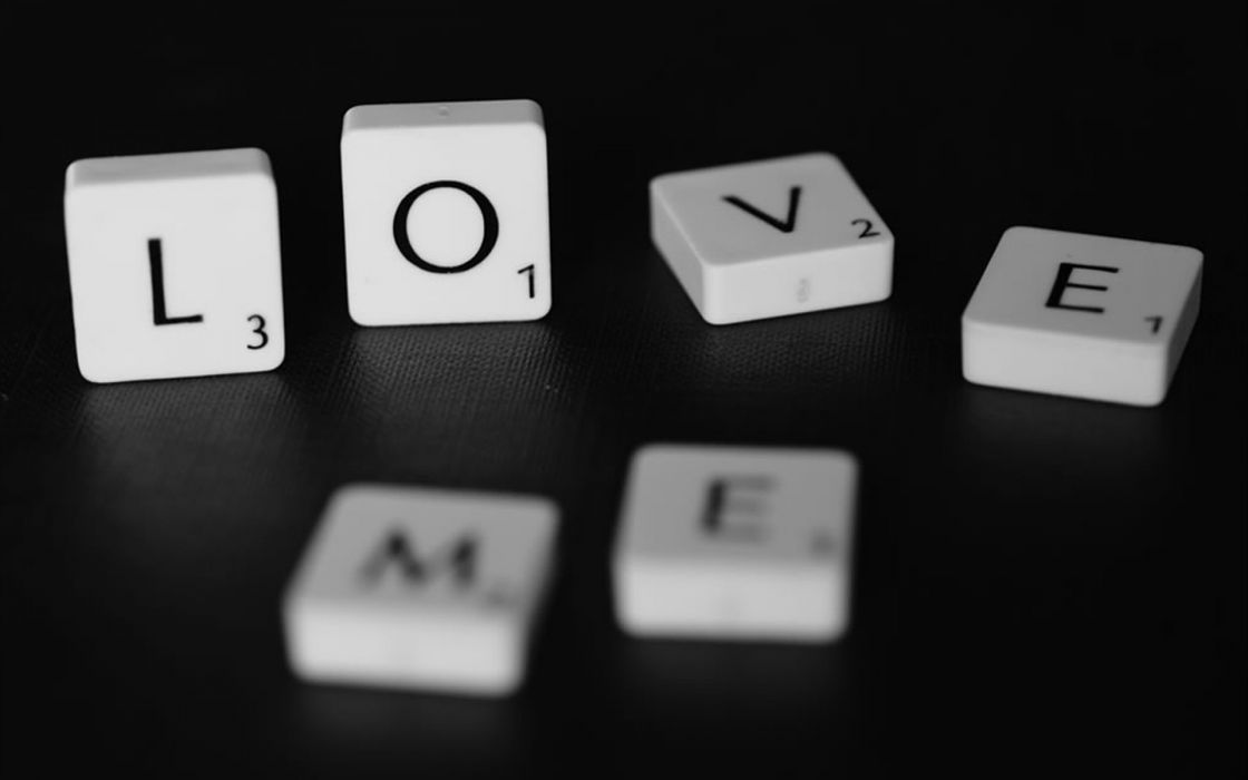 Love text typography macro board games scrabble objects wallpaper