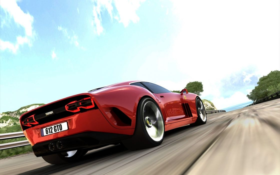 Red cars vehicles ferrari  gto wallpaper