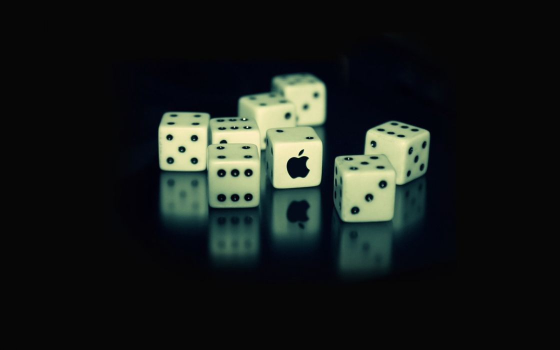 Mac dice cubes wallpaper