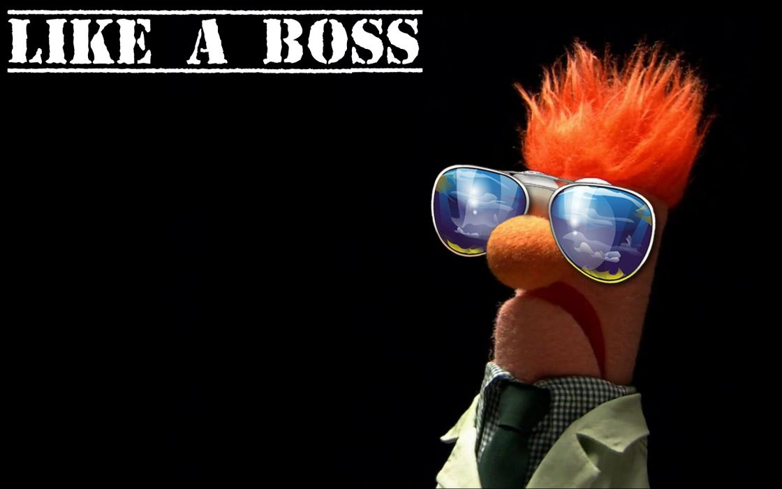 Beaker The Muppet Show Like A Boss Wallpaper