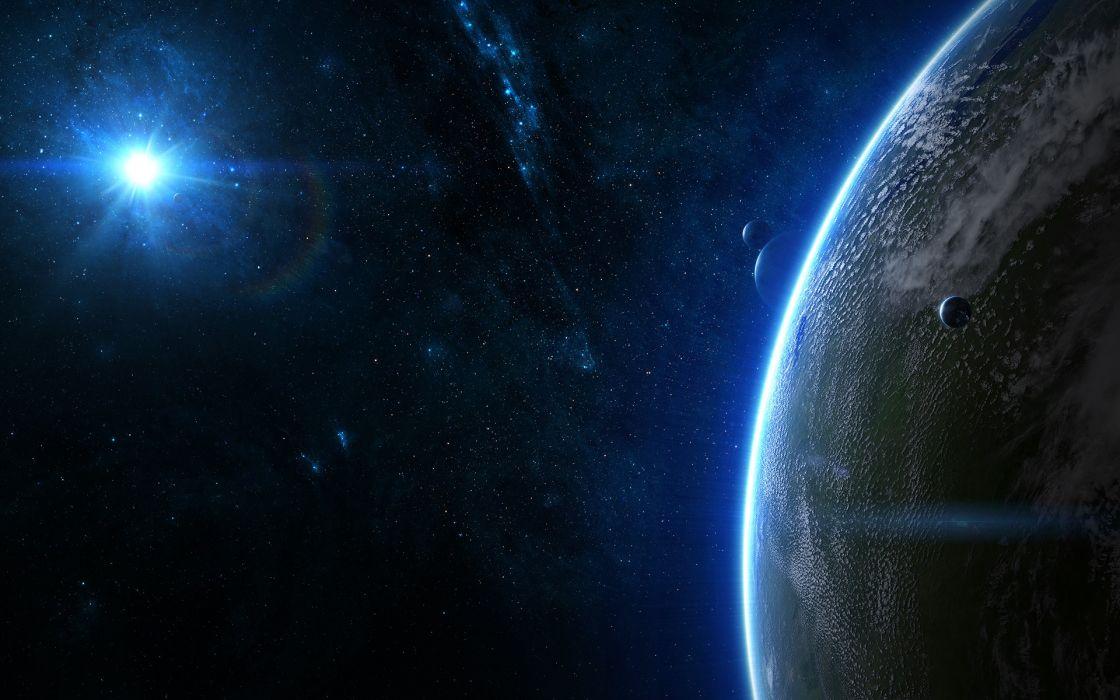 Stars galaxies planets deviantart space art wallpaper