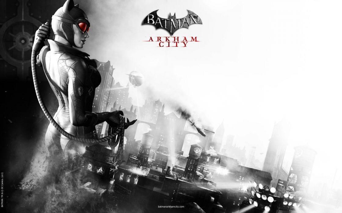 Batman catwoman arkham city batman arkham city wallpaper