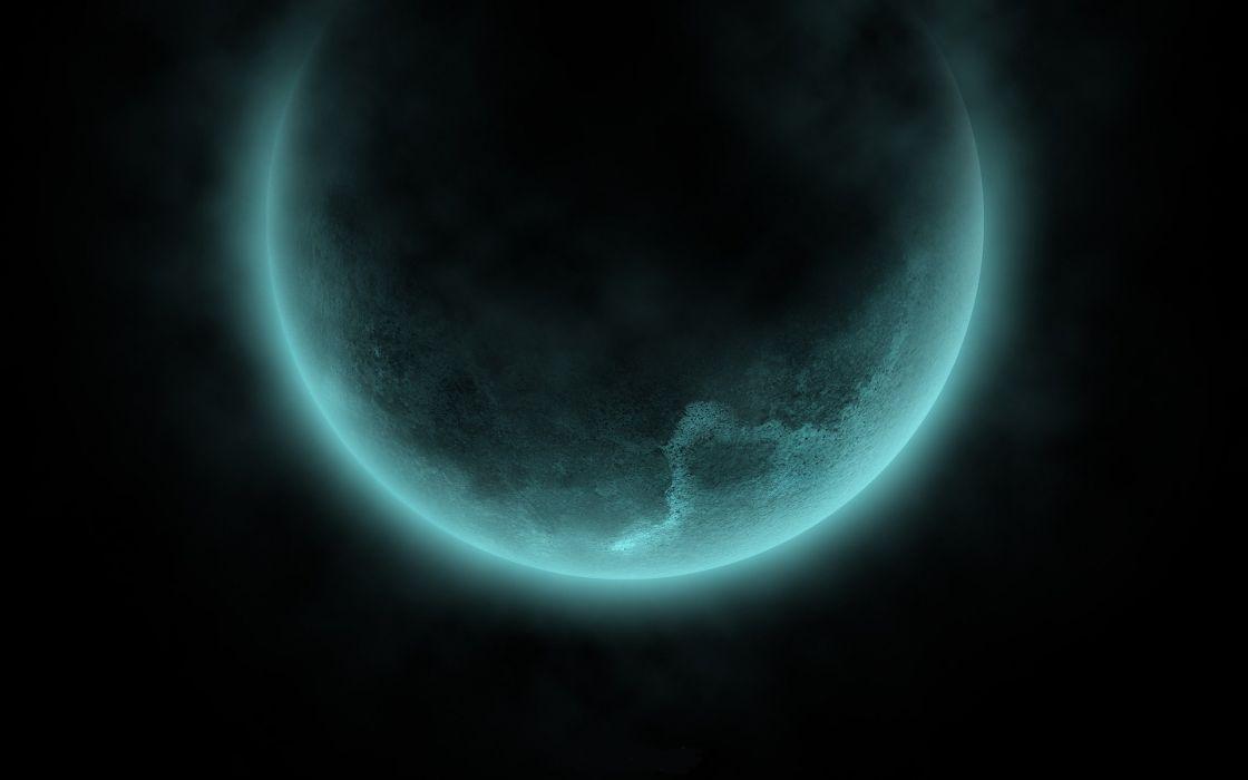 Planets glow wallpaper