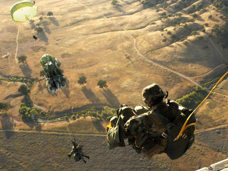 Airborne wallpaper