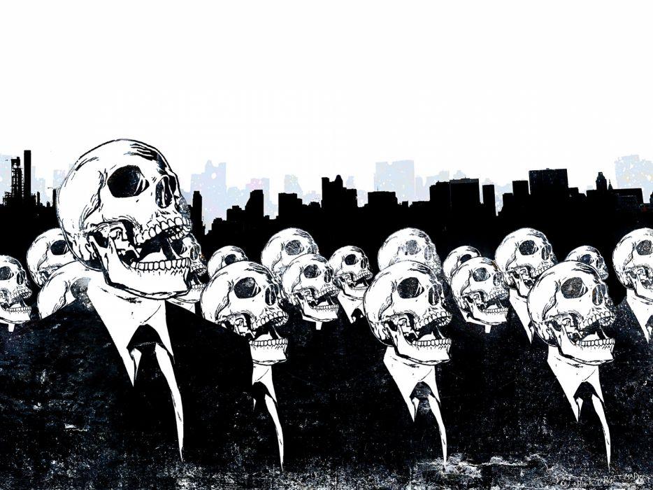 People skulls wallpaper