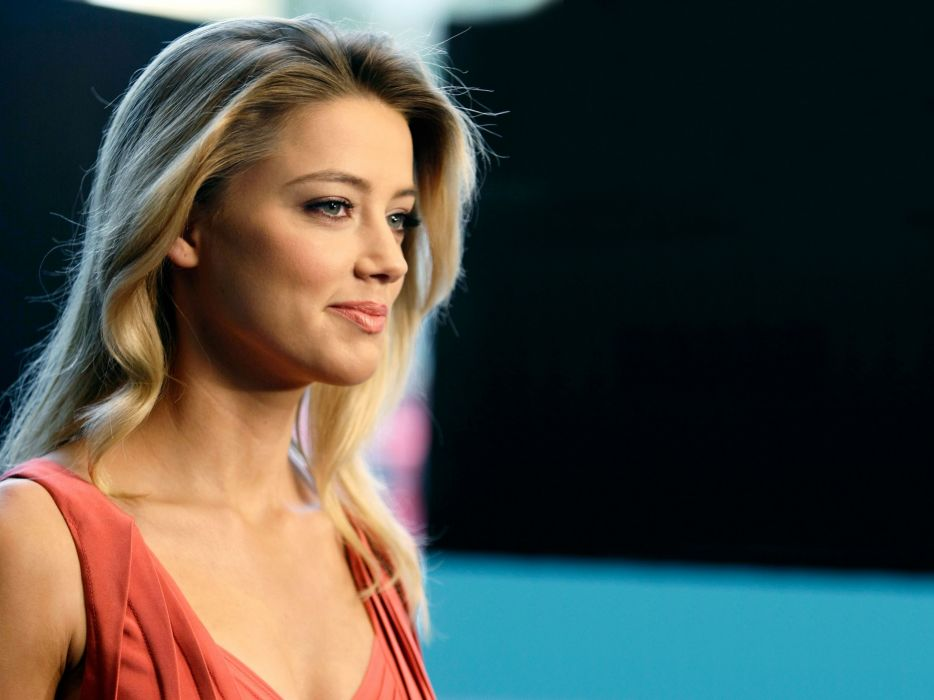 Blondes women actress models celebrity amber heard wallpaper