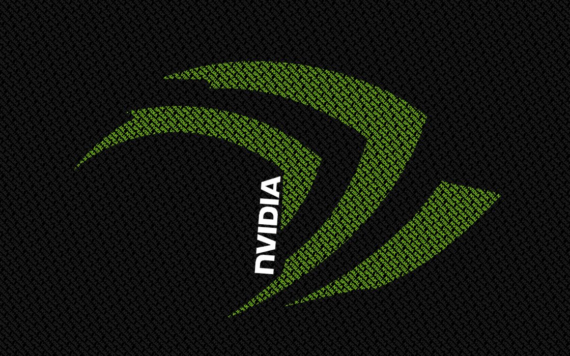 Nvidia logos wallpaper