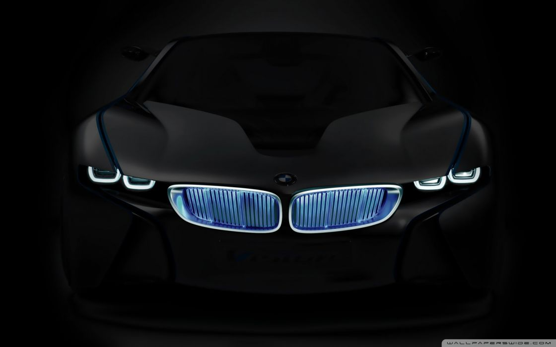 Abstract bmw cars ghosts consept wallpaper
