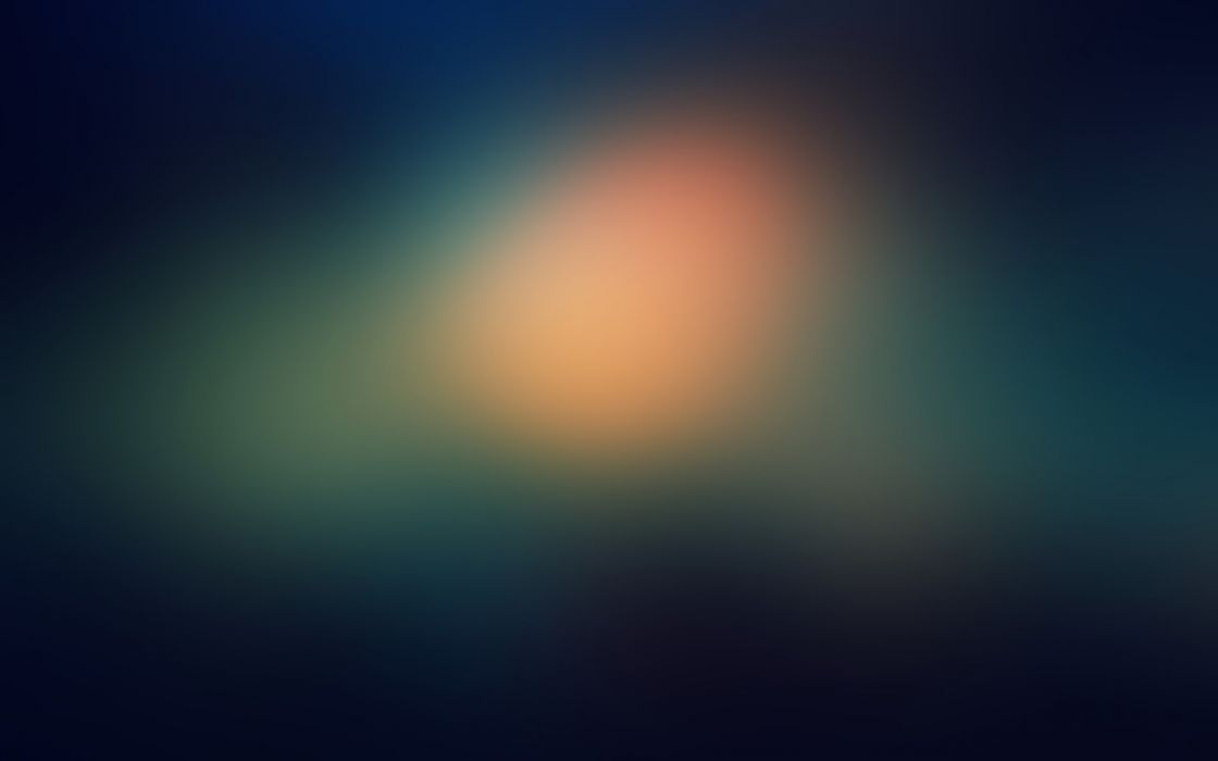 Minimalistic gaussian blur wallpaper