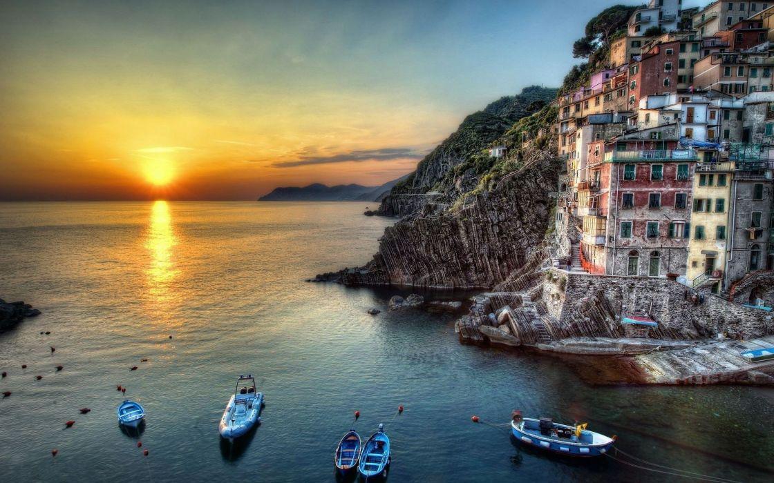 Sunset Italy Wallpaper 1920x1200 9736 Wallpaperup