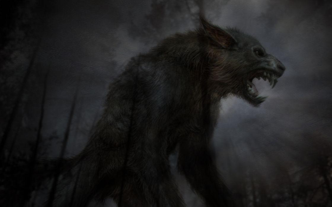 Dark creatures wallpaper