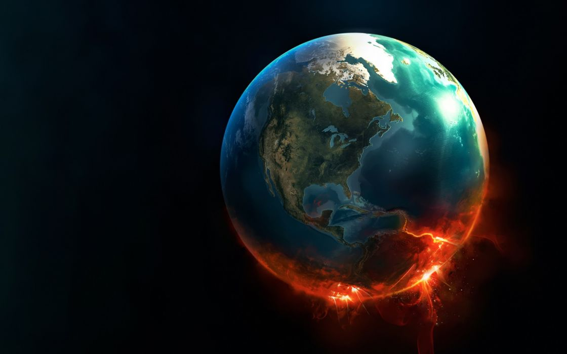 Outer space earth knowing wallpaper