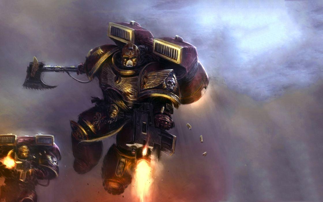 Warhammer k space marines wallpaper