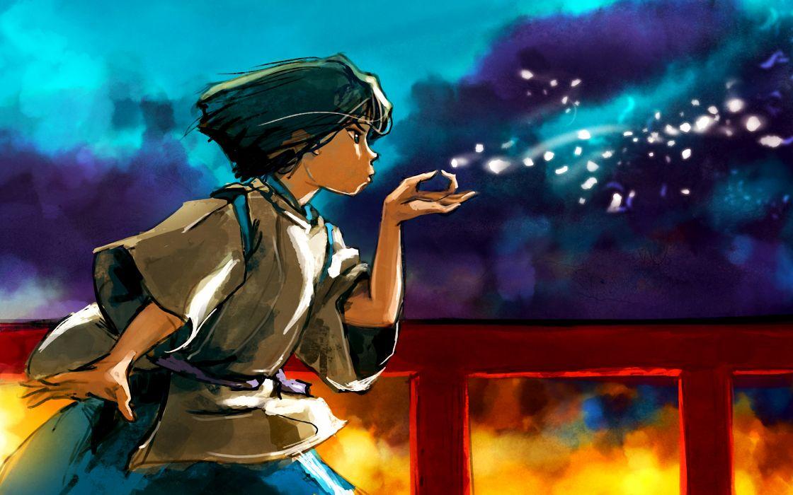 Hayao miyazaki spirited away artwork anime manga wallpaper
