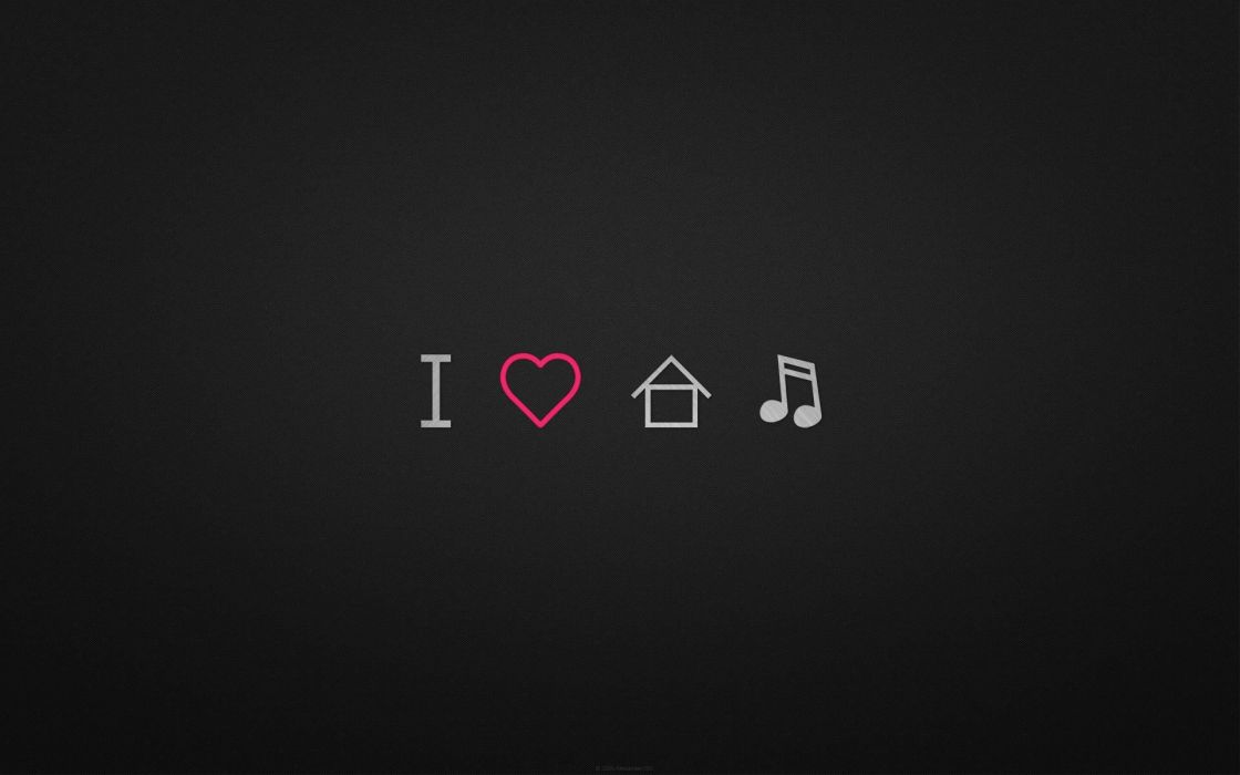 Love minimalistic music house music wallpaper