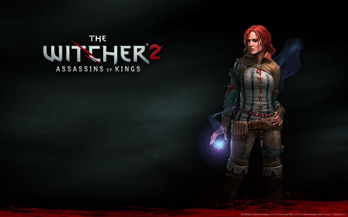 The witcher triss merigold wallpaper