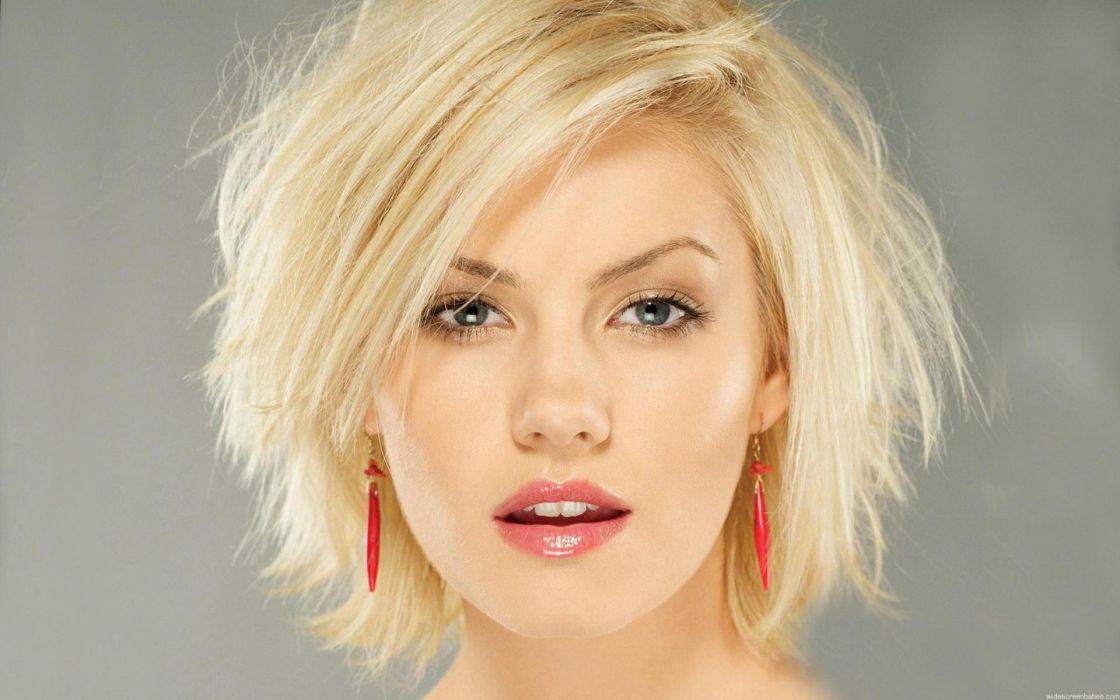 Blondes women elisha cuthbert faces wallpaper