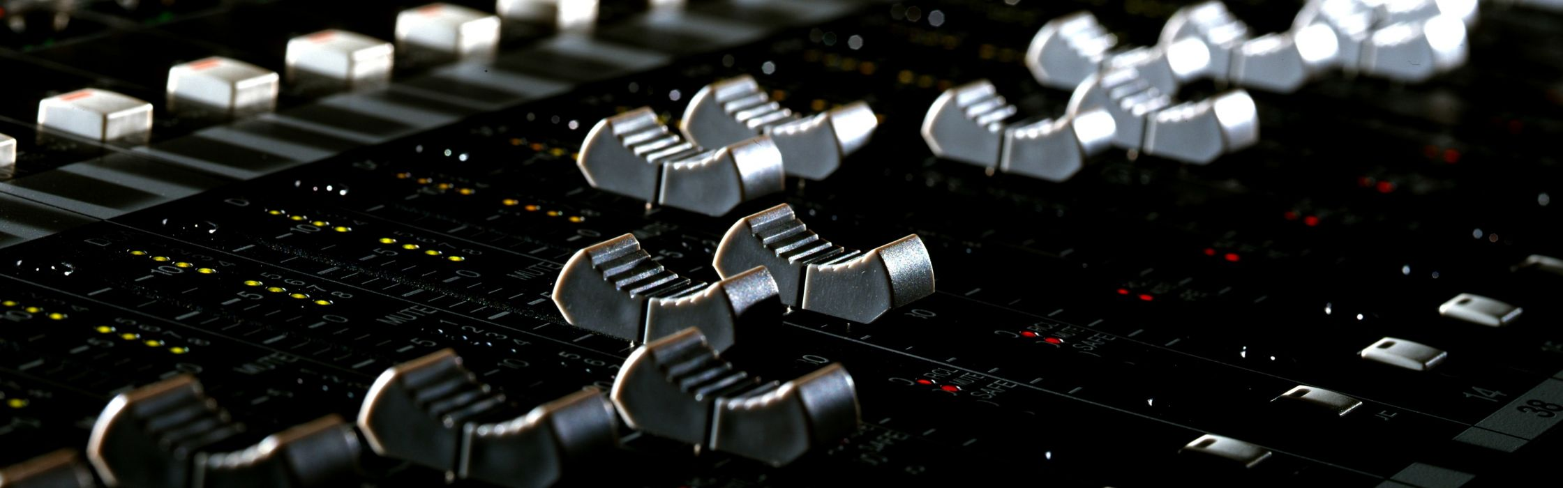 Music mixers dj  faders wallpaper