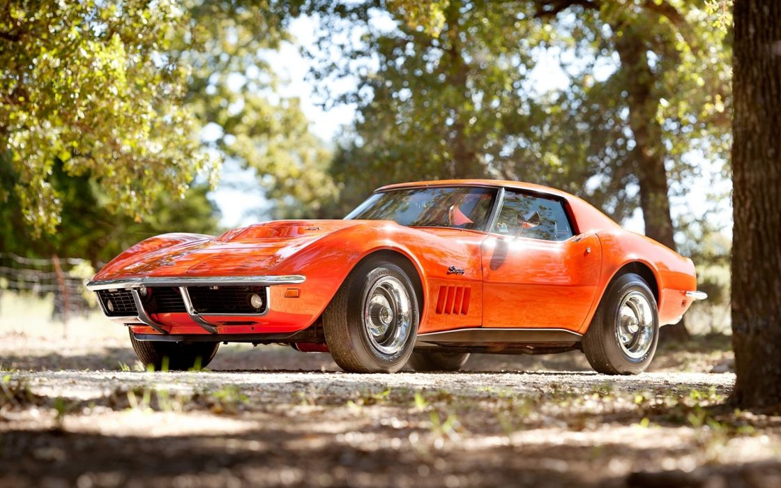 Cars stingray chevrolet corvette classic cars wallpaper