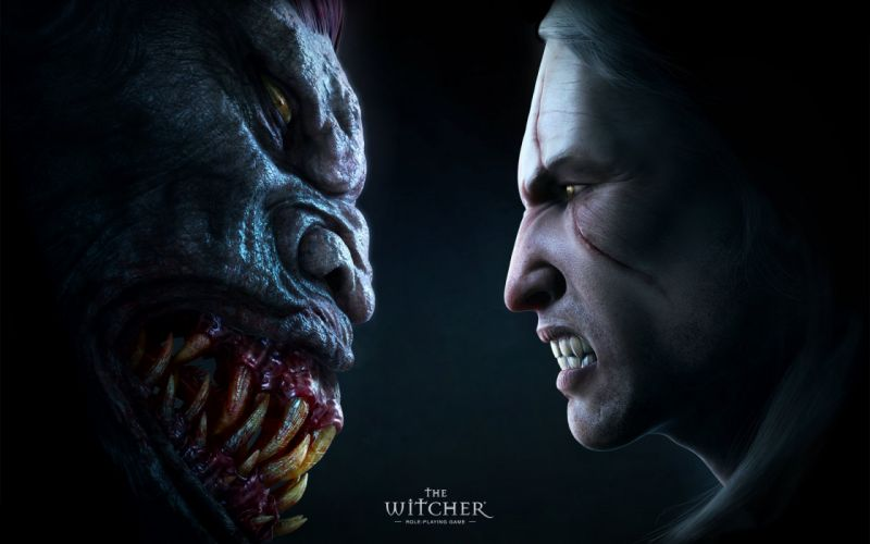 Video games the witcher geralt of rivia wallpaper