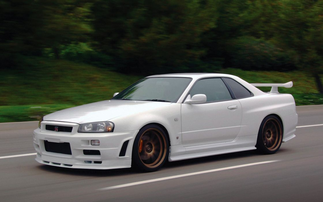 Cars nissan skyline r wallpaper