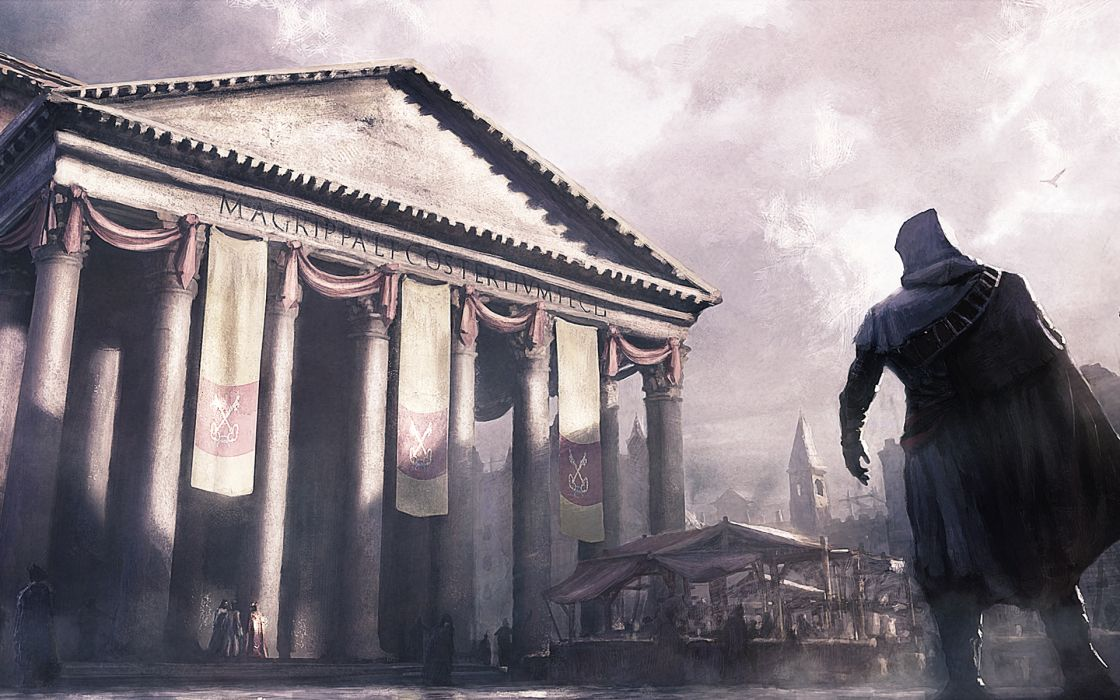 Assassins creed brotherhood artwork wallpaper
